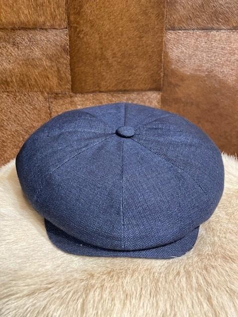 ARBORATOR-shop-online-Arborator-Newsboy-Cap-Limited-dark-blue